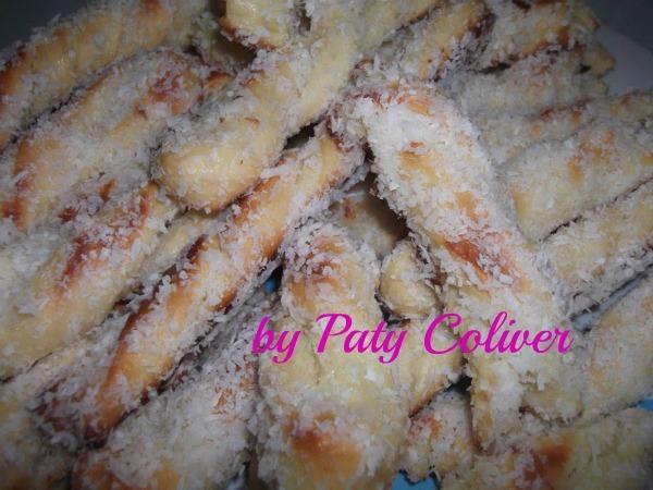 Torcidinhos de coco: Paty Coliver