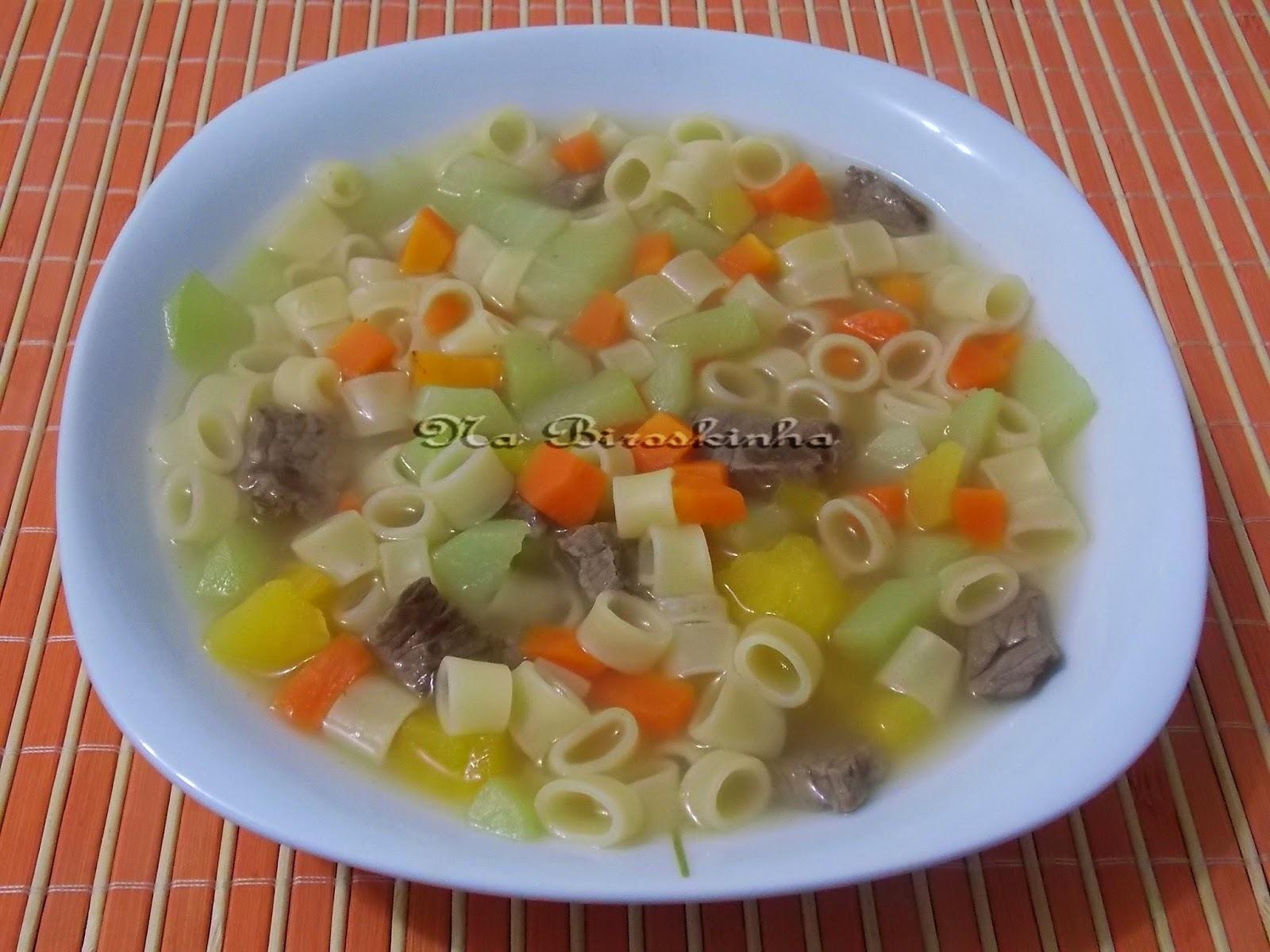 Sopa de Legumes Nutritiva