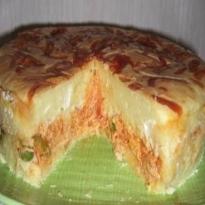 torta de frango com catupiry liquidificador simples