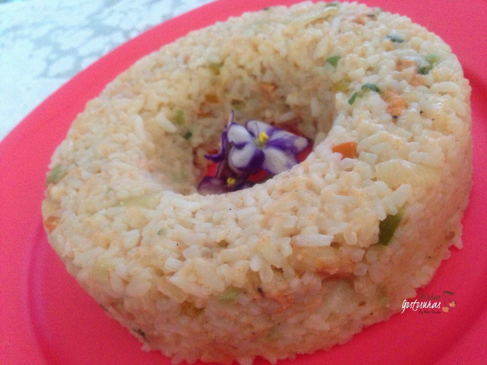 arroz de camarão cremoso