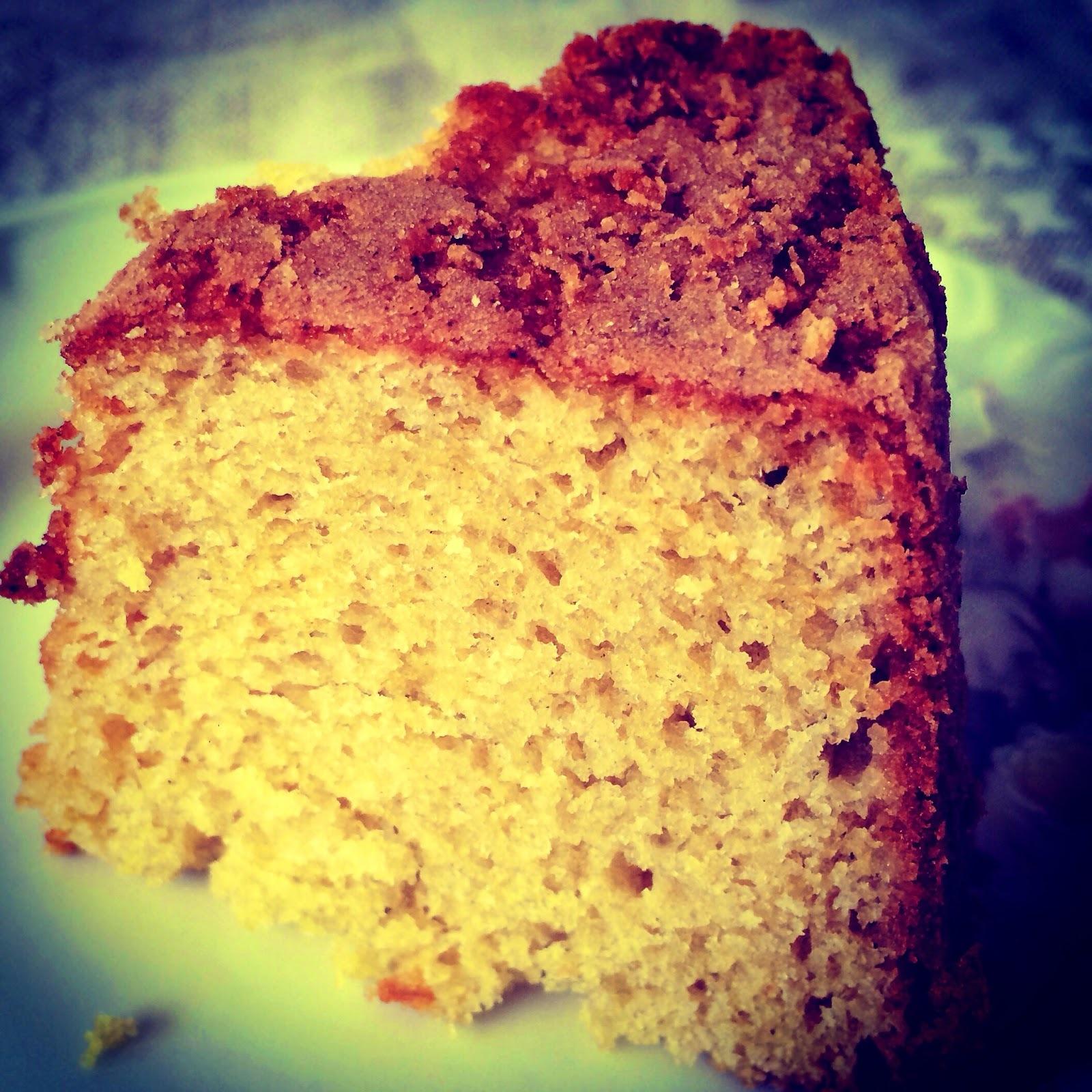 Bolo simples - estilo de padaria