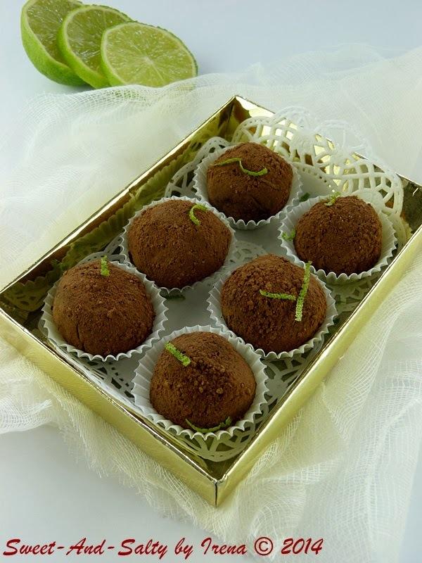 Truffles sa limetom i medom / Lime And Honey Truffles