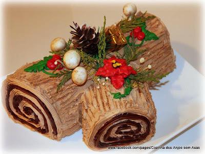 Rocambole Decorado - receitas natalinas