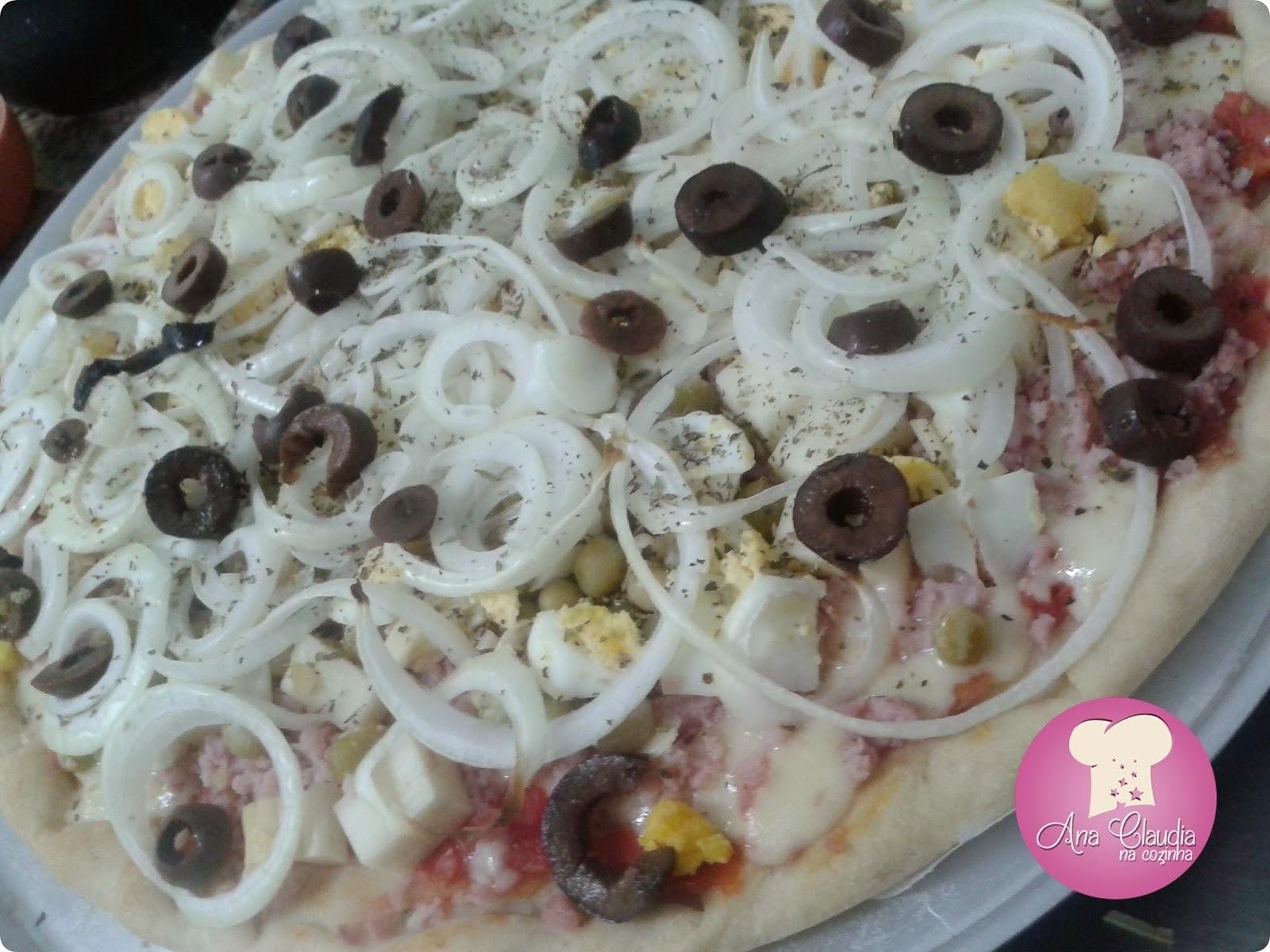 pizza calabresa acebolada