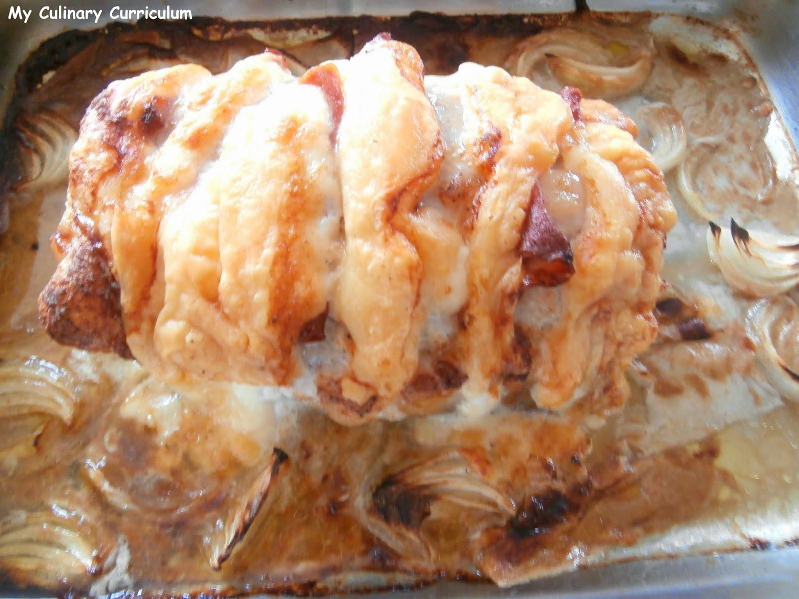 Rôti de porc façon Orloff express (Roast Pork Orloff express way)