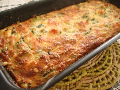 Torta de Espinafre, Abobrinha, Ricota e Temperos: além de leve, é deliciosa, não tem glúten, nem lactose!