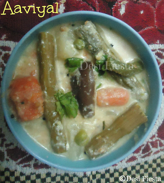 Aviyal (Come on - Let cook buddies) Entry 52