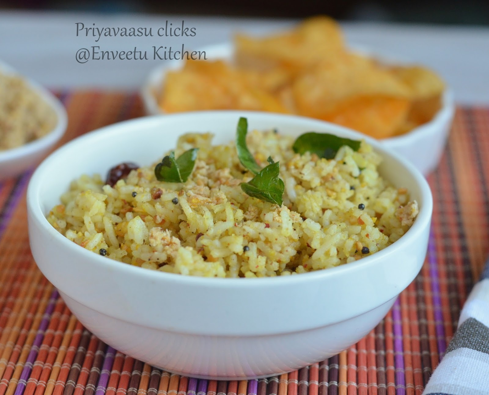 Peanut-Sesame Powder Rice - Revisited Recipe