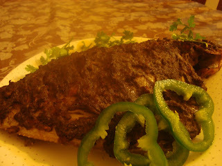 Green Masala Grilled Fish