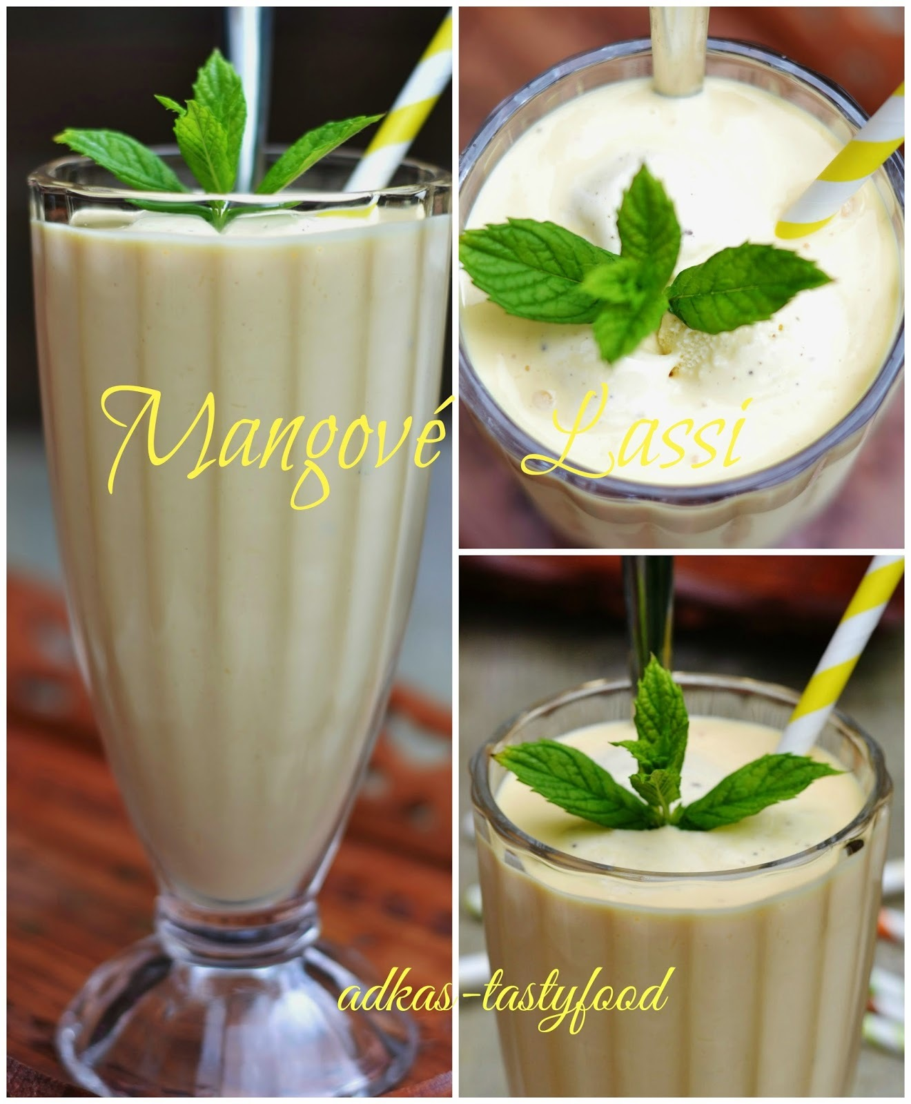 Mangové Lassi