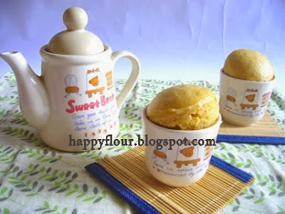Gula Melaka Steamed Cupcakes