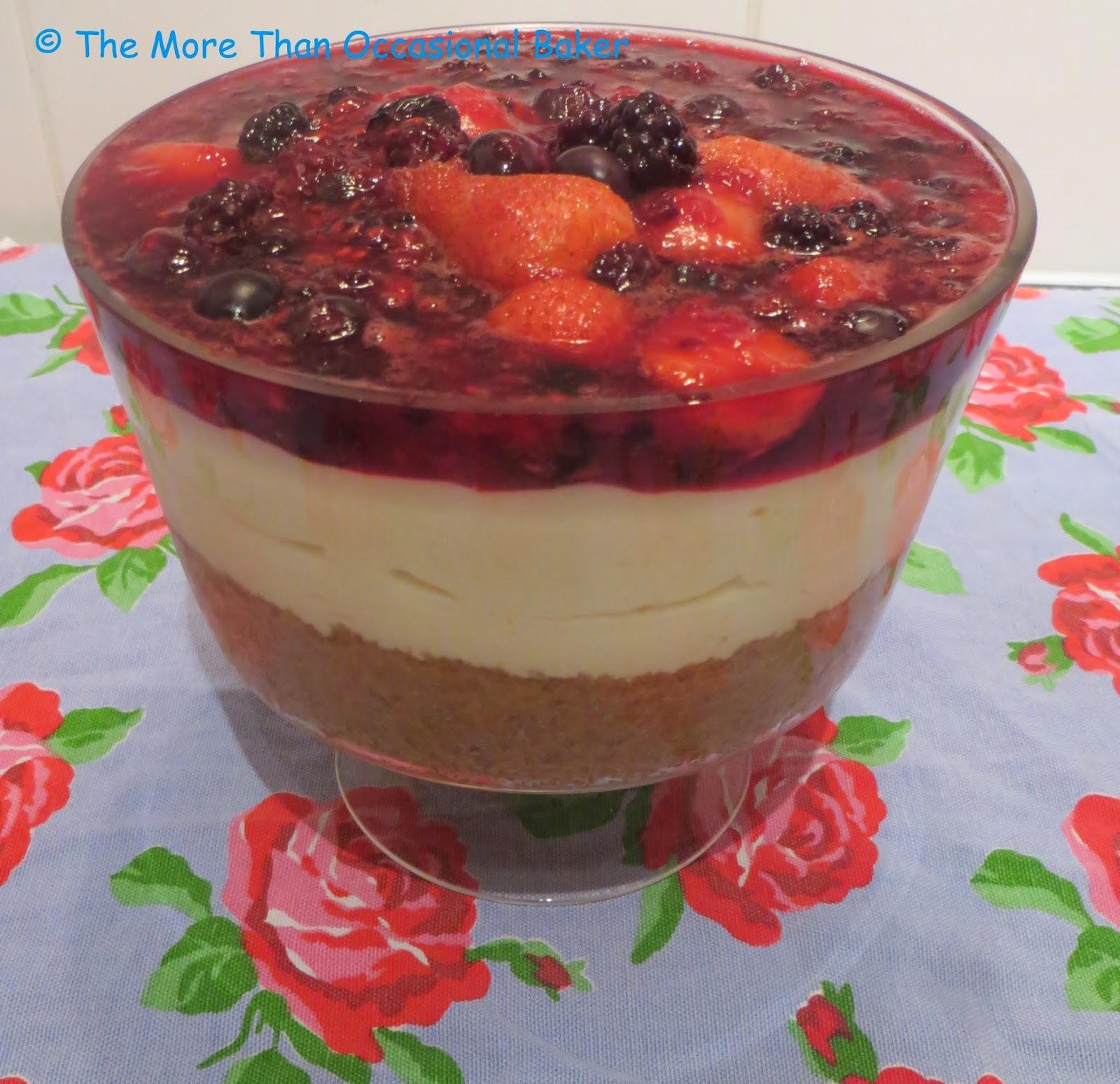 SRC: No Bake Berry Cheesecake