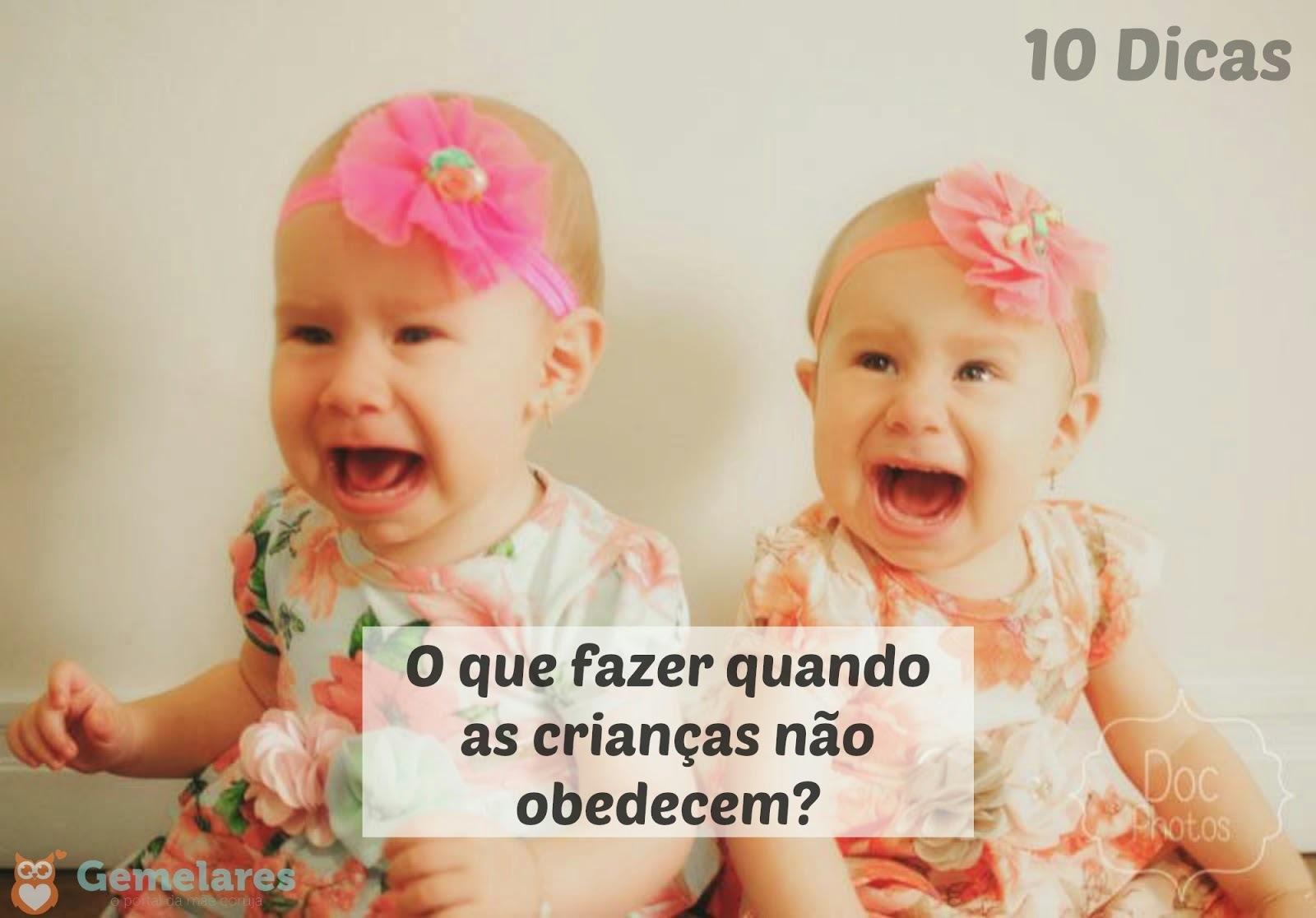 O que fazer quando as crianças não obedecem? - 10 Dicas