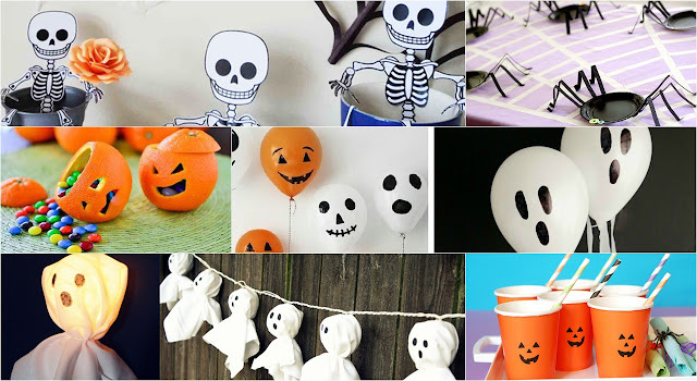 12 dicas de decoração para festas de halloween fáceis e baratas