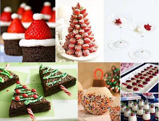 Idéias de Decoração Comestíveis para o Natal