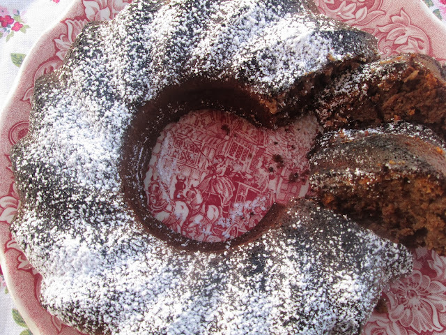 Chestnut and chocolate Cake (Torta al cioccolato con le castagne)