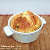 como fazer um omelete fofinho com queijo e presunto