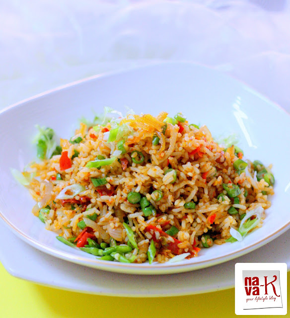 Nasi Goreng Belacan Ikan Bilis (Shrimp Paste Anchovies Fried Rice)