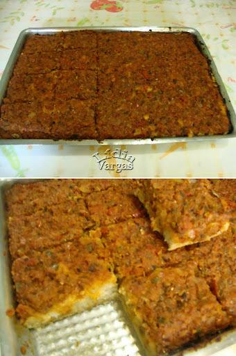 de pizza de sardinha com fermento de pão