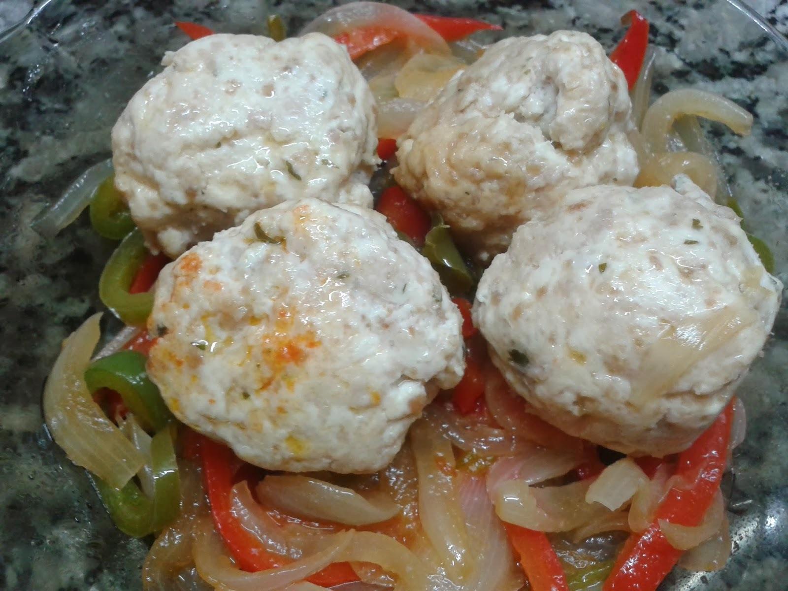 pescado pollo de mar a la cacerola