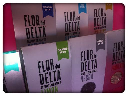 Sal flor del delta del Ebro