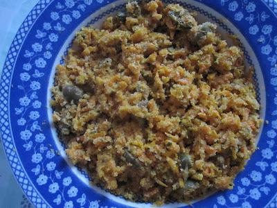 Farofa de cenoura (vegana)