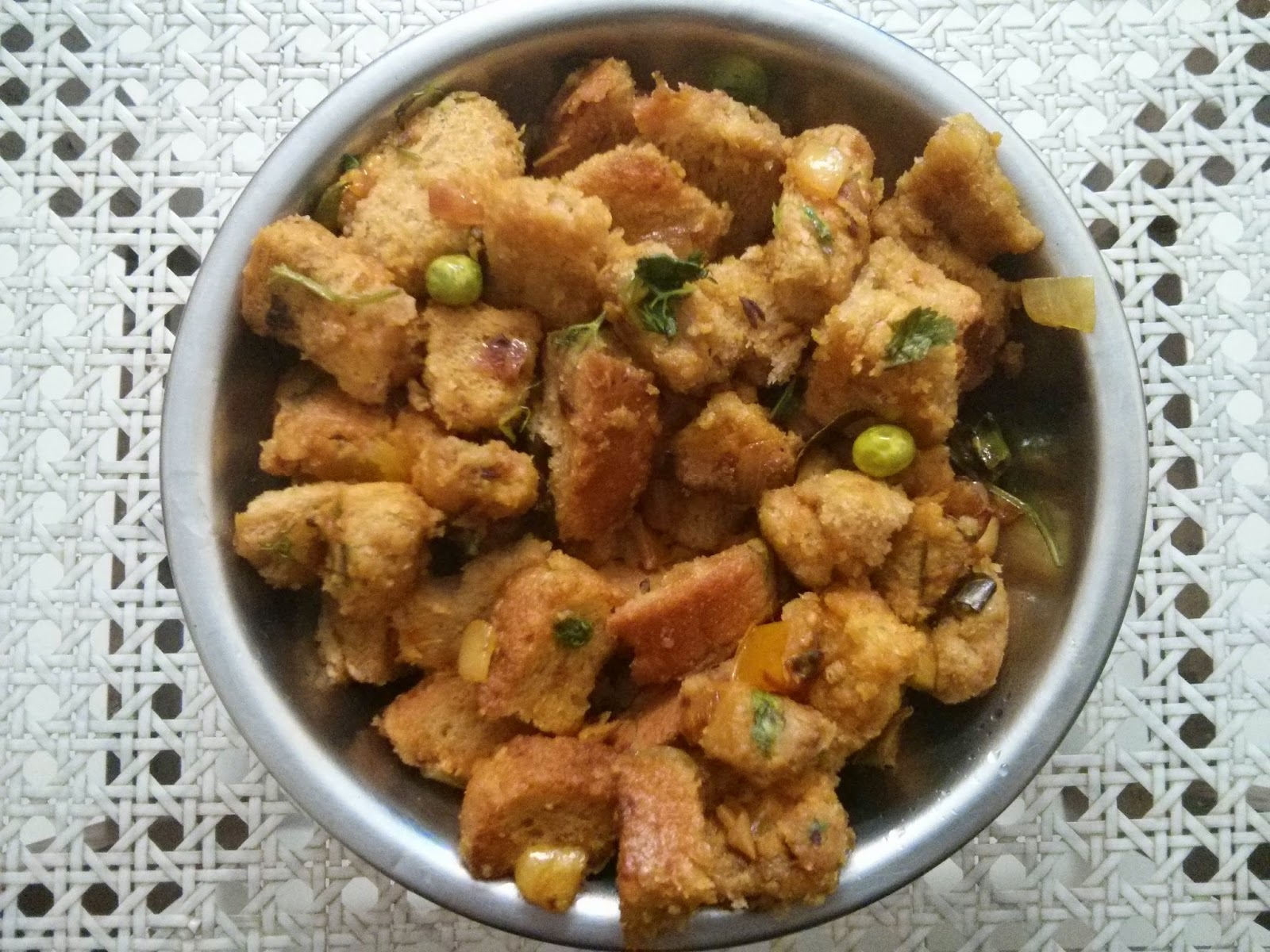 Bread Bhath / Bread Masala / Bread Upma Recipe in simple steps