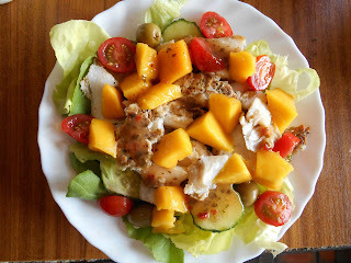 Madhouse salad recipe : Sunshine Cod & Mango Salad