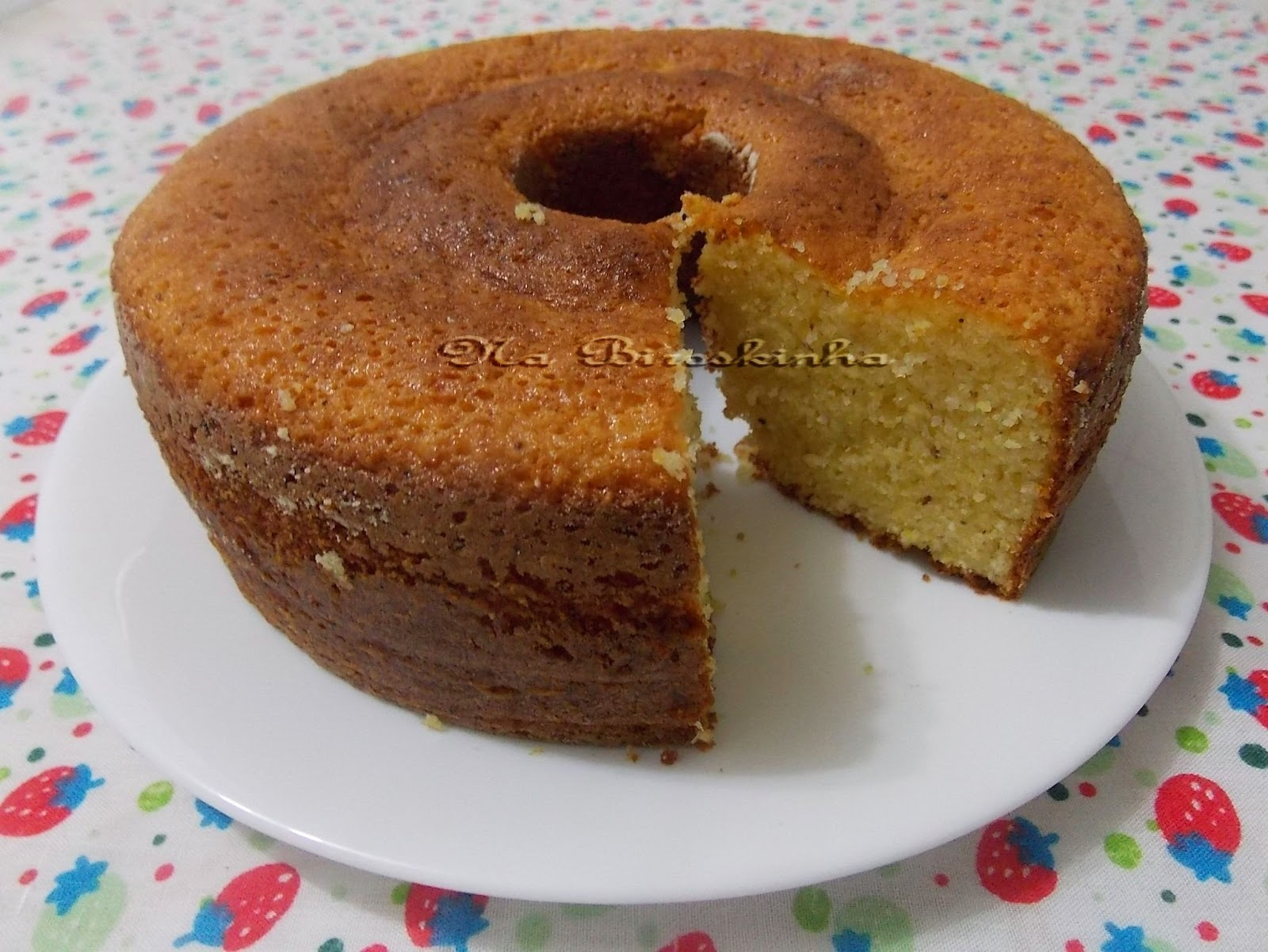 bolo de milho com farinha de trigo