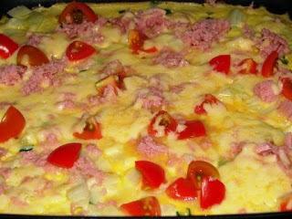 Omelete com Tomate Cereja