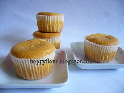 Chiffon Cupcakes (清水小蛋糕)