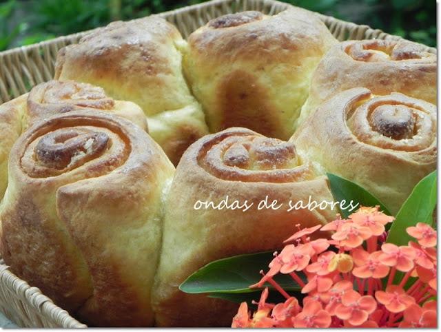 Rosca Flor... Simplicidade e Doçura na Medida Certa