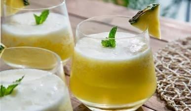 Suco de Abacaxi com Hortelã Gaseificado