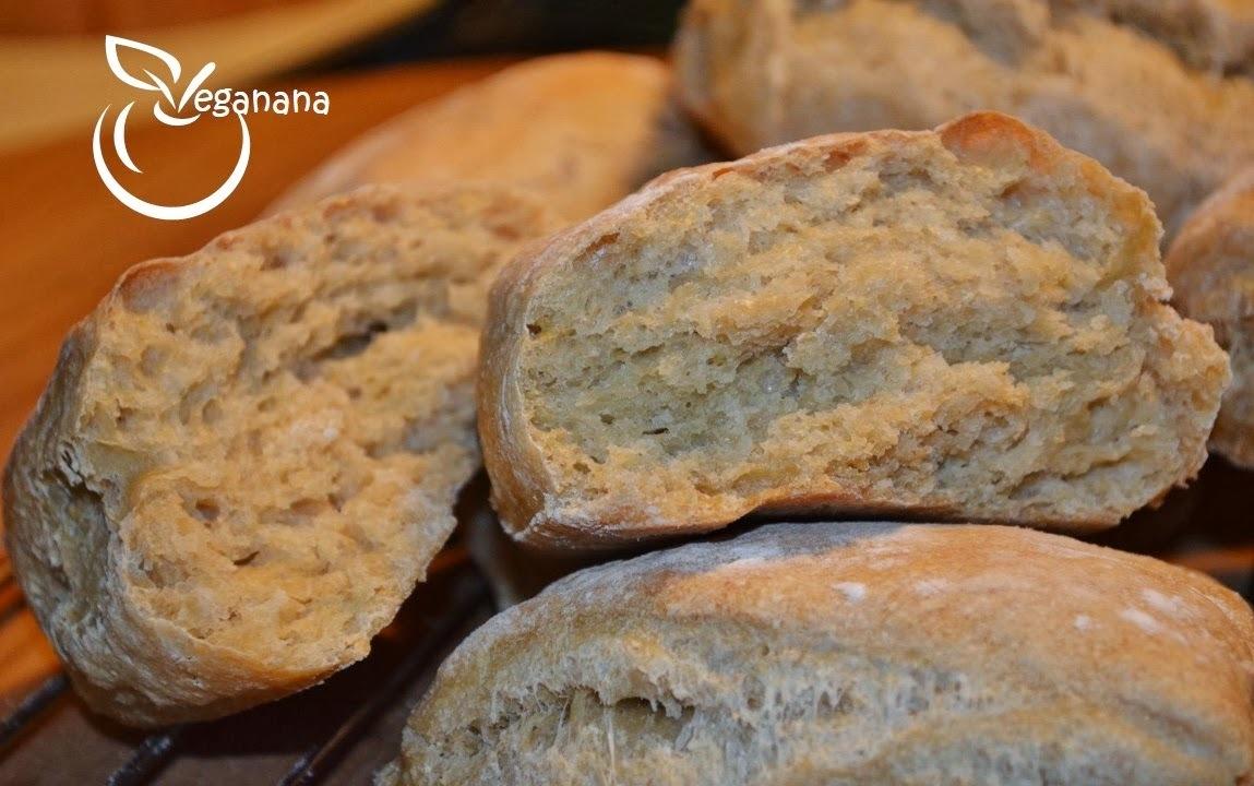 Ciabatta Semi-Integral com Fermentaçao Lenta