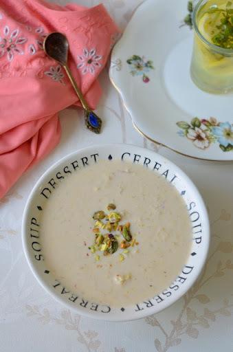 Cabbage Kheer / Payasam