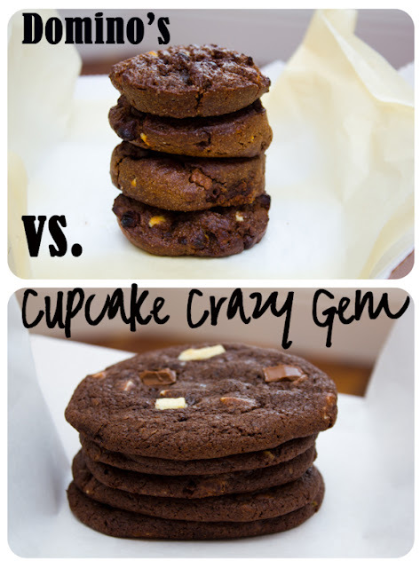A Domino's Triple Chocolate Cookie Throwdown!