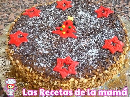 Receta de Torta de chocolate de navidad