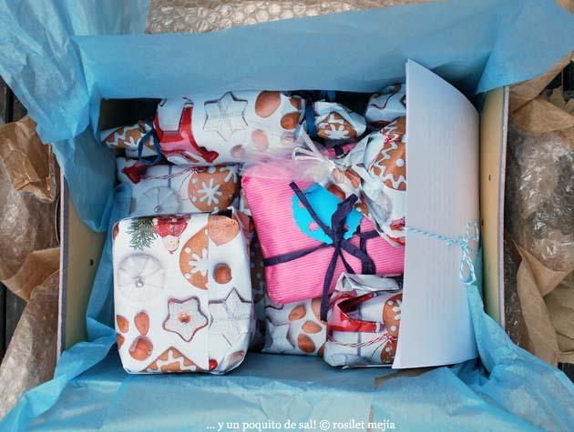 ¡llegó mi AIG 2011! celebramos con unas crackers...