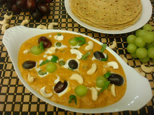 grapes sabzi