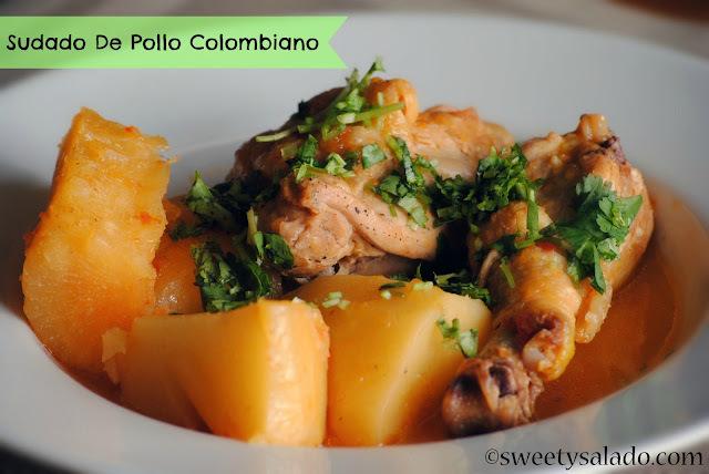 Sudado de Pollo Colombiano