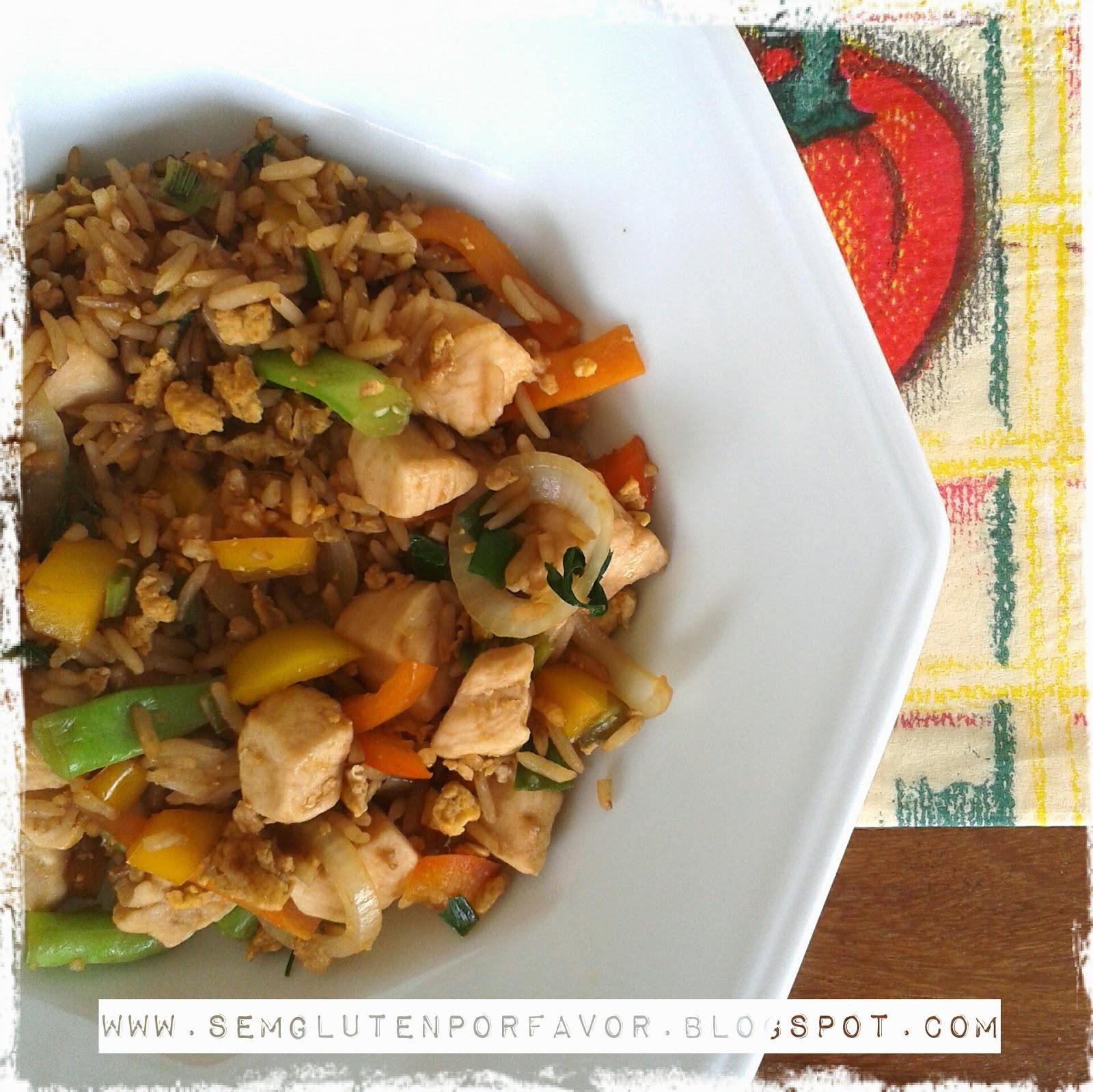 Receita de hoje: arroz chinês