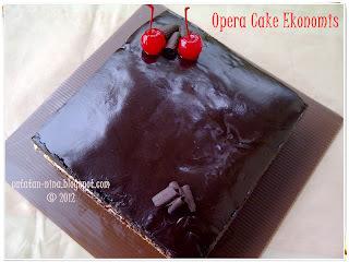 OPERA CAKE EKONOMIS (AGAIN)