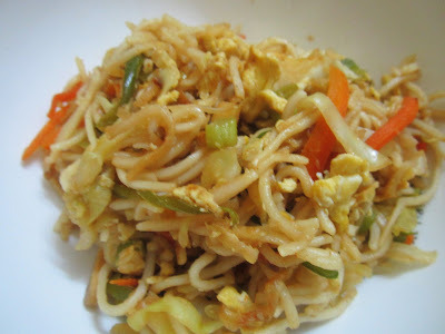 Weekday Egg Chowmein