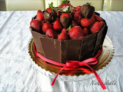 Čoko torta s parížskym krémom