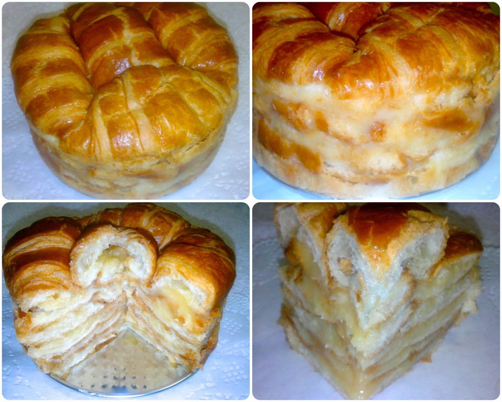 Pastel de Croissants