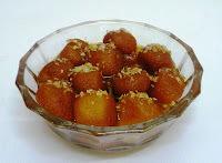 Sago-Potato Gulab Jamun