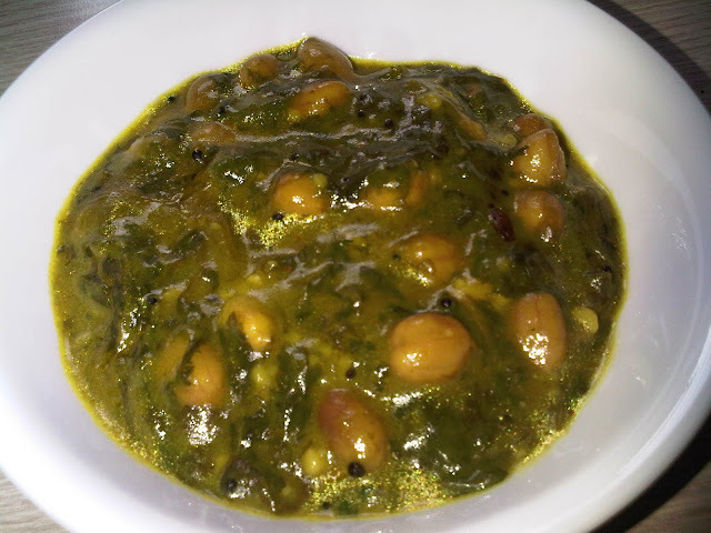 Simple Spinach Curry