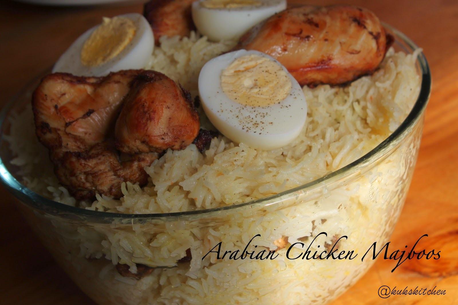 Arabian Chicken Majboos | Kukskitchen