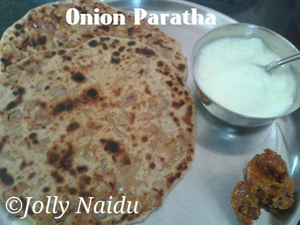 Crunchy Onion Paratha Recipe : Coming From My Kitchen