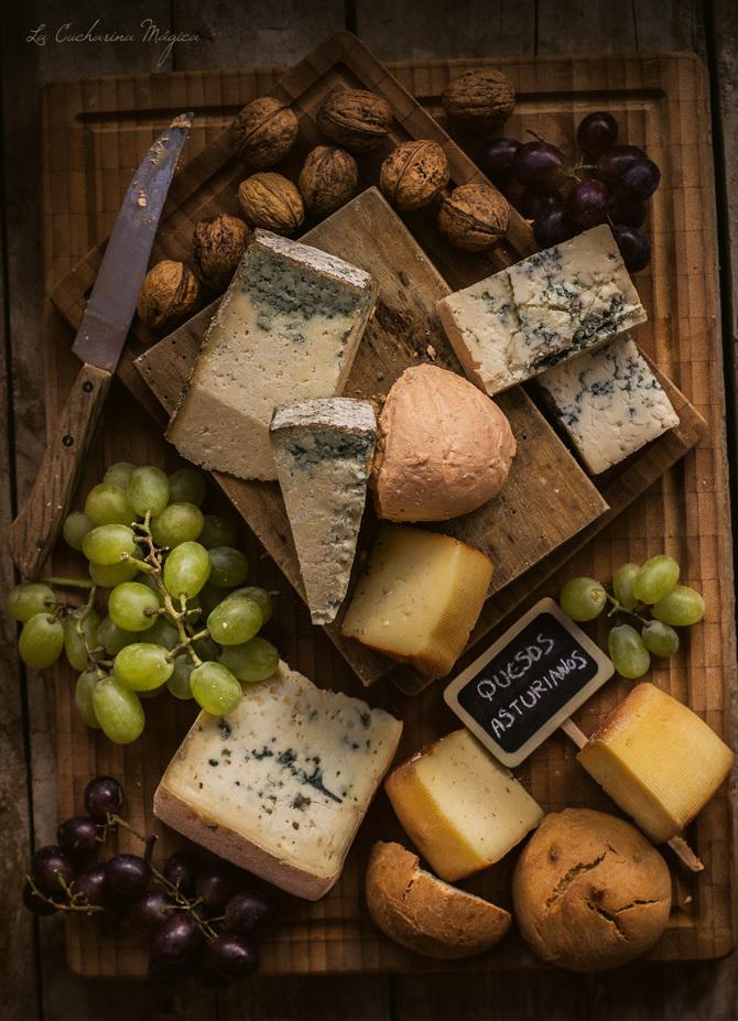 Mis 5 Mejores... quesos asturianos.